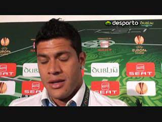 Jogadores do Porto eufóricos pela vitória