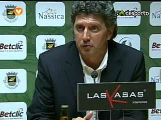 Carlos Brito «Parabéns aos nossos jogadores»