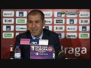 Leonardo Jardim «Dominámos o jogo»