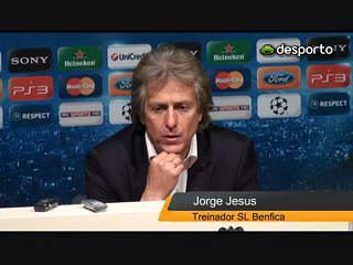 Jesus confirma ausência de Luisão no dérbi
