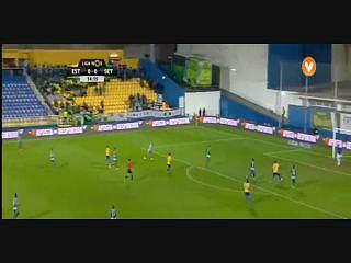 Estoril, Golo, Leo Bonatini, 15m, 1-0