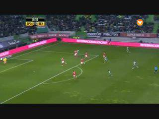 Sporting, Jogada, Montero, 19m