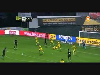 Liga (1ª J): Resumo P. Ferreira 1-0 Académica