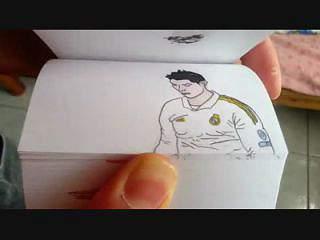 A magia de Ronaldo em papel