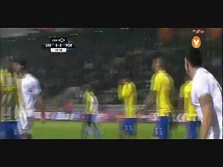 Resultado ao Intervalo – U. Madeira 0-3 FC Porto