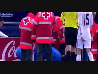 Cristiano Ronaldo agredido com um isqueiro