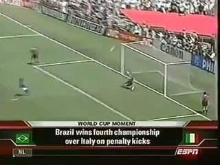 Erros célebres em Mundiais de futebol - Roberto Baggio