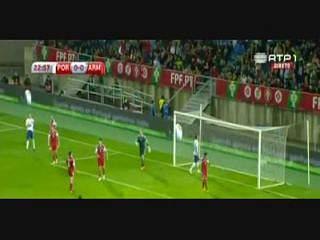 Portugal, Jogada, Cristiano Ronaldo, 23m