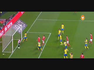 Liga (19ª J): Resumo Benfica 3-1 Arouca