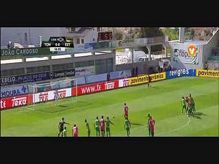 Estoril, Golo, Kléber (g.p.), 17m, 0-1