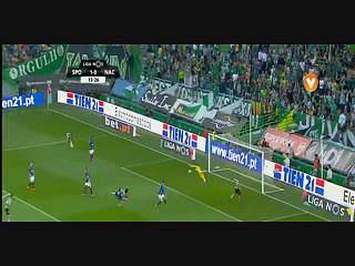 Sporting, Jogada, Gelson Martins, 15m