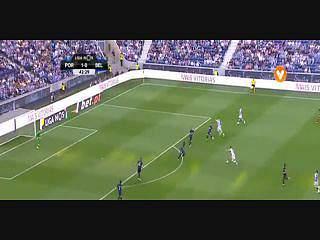 FC Porto, Jogada, André Silva, 43m