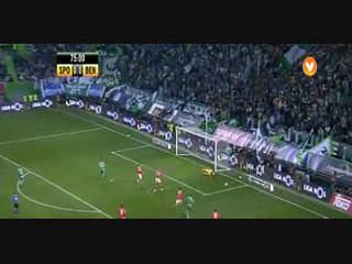 Sporting, Jogada, Montero, 75m