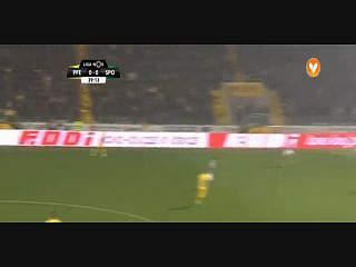 Sporting, Golo, Bruno Cesar, 40m, 0-1