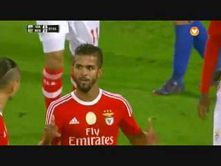 Benfica, Golo, Carcela, 36m, 0-1
