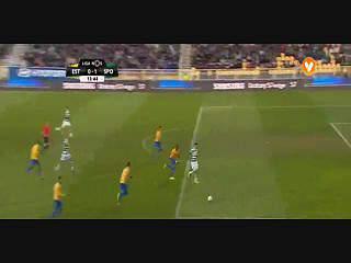 Liga (26ª J): Resumo Estoril 1-2 Sporting