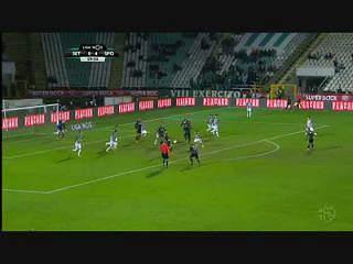 Sporting, Golo, Bruno César, 60m, 0-5
