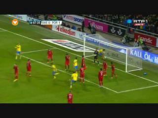 Suécia, Golo, Ibrahimovic, 68m, 1-1