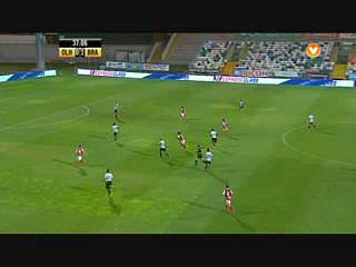 Resumo Olhanense 1-3 Sp. Braga
