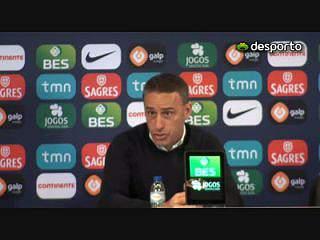 Paulo Bento explica opção por André Almeida em vez de Cédric
