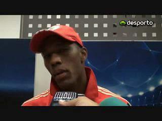 Jogadores do Benfica confiantes para a Champions