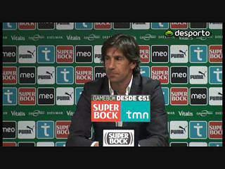 Paulo Alves: «Fomos imaturos»