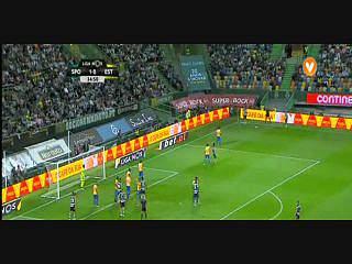 Sporting, Jogada, Bas Dost, 35m