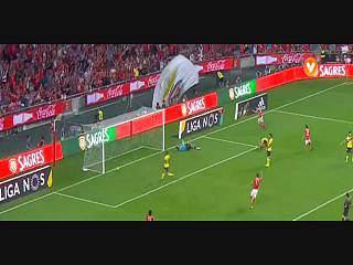 Benfica, Golo, Gonçalo Guedes , 26m, 1-0