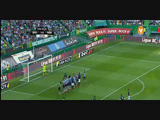 Liga (4ªJ): Resumo Sporting 3-0 Moreirense