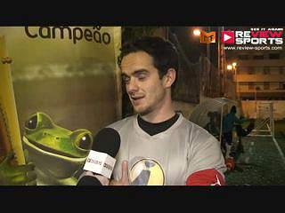 Empark vs P.Amarelas - Flash Interview João Antunes
