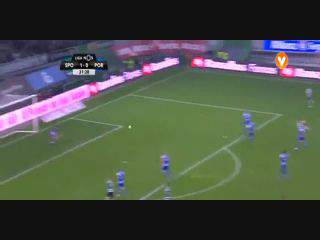 Sporting, Jogada, Adrien Silva, 31m