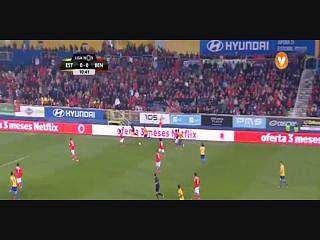 Estoril, Golo, Léo Bonatini, 12m, 1-0