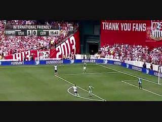 """Monumental """"frango"""" no EUA 4-3 Alemanha"""