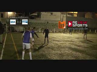 Na sequência de um ressalto João Alves inaugura o marcador