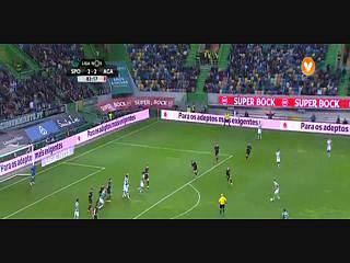 Sporting, Jogada, Adrien Silva, 84m