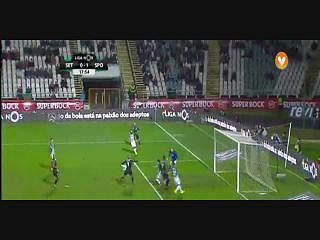 Resultado ao Intervalo – V. Setubal 0-2 Sporting