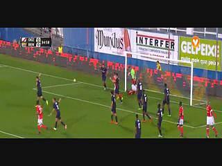 Benfica, Jogada, Carrillo, 35m