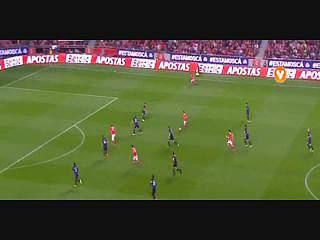Benfica, Jogada, Mitroglou, 40m