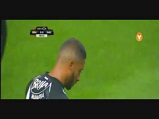 Sp. Braga, Golo, César (p.b.), 9m, 1-0