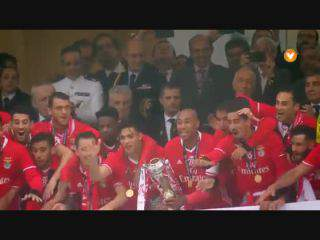 Benfica recebe Taça de Portugal