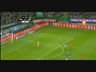 Sporting, Jogada, Podence, 35m