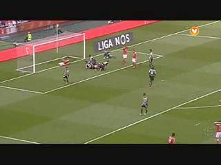 Benfica, Jogada, Lisandro López, 80m