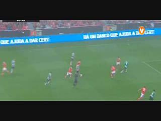 Sporting, Golo,  T. Gutiérrez, 9m, 0-1
