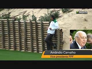 """Amândio Carvalho: """"precisamos um grande jogo"""""""