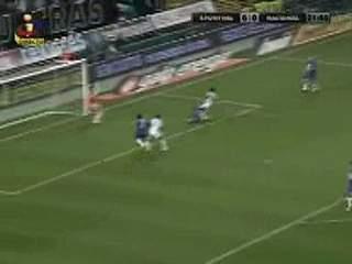 Sporting, jogada Yannick, 21 min