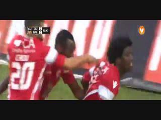 Gil Vicente, Golo,Pecks , 30m, 1-0