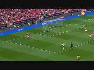 Benfica, Jogada, Derley, 26m