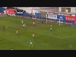Sporting, Jogada, B. Ruiz, 26m