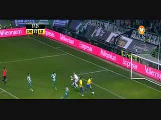 Sporting, Jogada, Carrillo, 87m