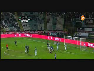 Sporting, Golo, Bruno César, 41m, 0-2